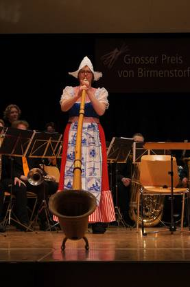 Schweizer Alpen-Rock im holländischen Kleid. Altena Brass aus Holland.