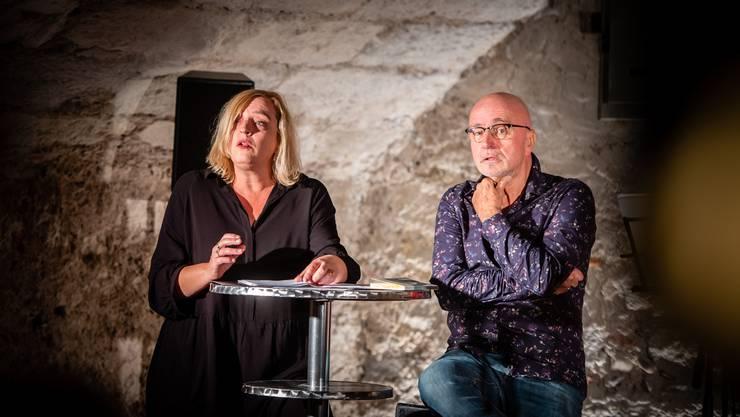 Am Sonntag startete das Theater Mammagena mit einem Brunch, verbunden mit Literatur und Musik.