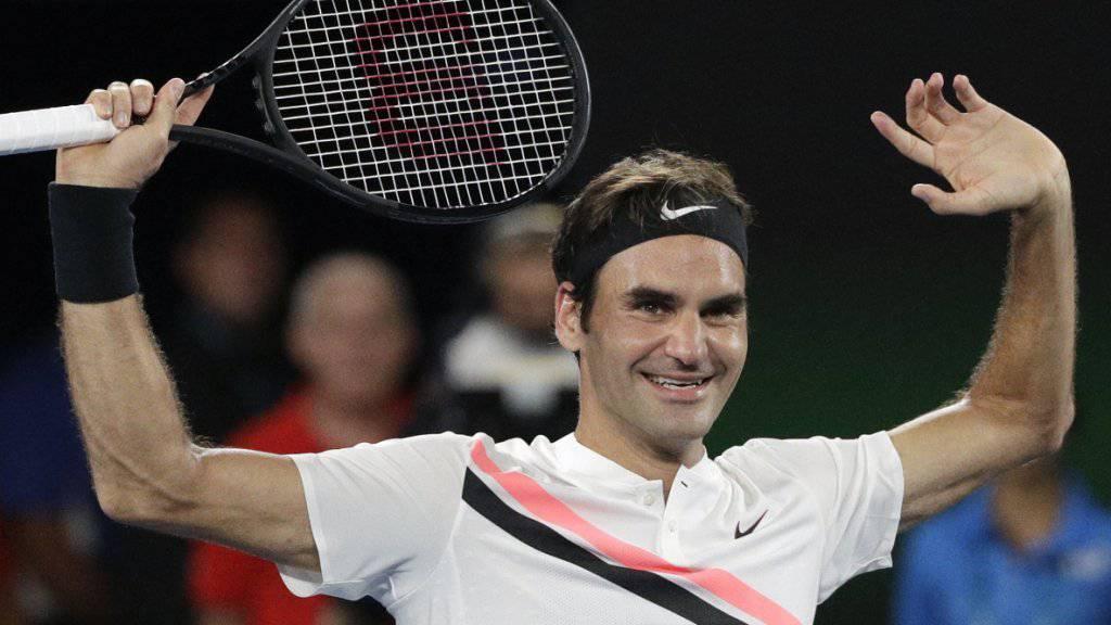 Roger Federer könnte in Rotterdam wieder einmal auf Stan Wawrinka treffen