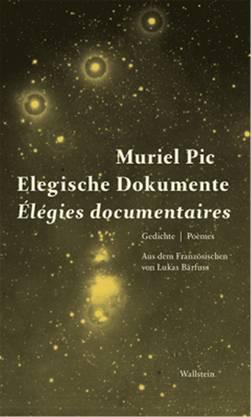 Muriel Pic: «Elegische Dokumente / Élegies documentaires», übersetzt von Lukas Bärfuss, Wallstein, 144 Seiten, 19 Abbildungen.