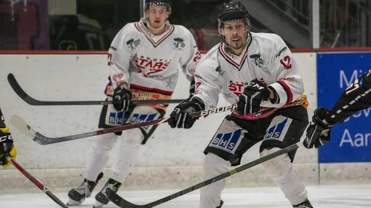 Beim EHC Wettingen-Baden hat die Eishockeykarriere von Wittwer angefangen.