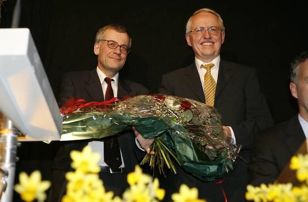 Langer gemeinsamer Weg - Kurt Fluri und Max Flückiger