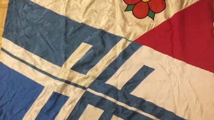 Die aktuelle Vereinsfahne des TV Birmensdorf stammt aus dem Jahre 1978.