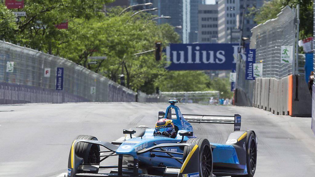 Die Formel E (im Bild der Schweizer Fahrer Sebastien Buemi) erhält bald Zuwachs durch Nissan