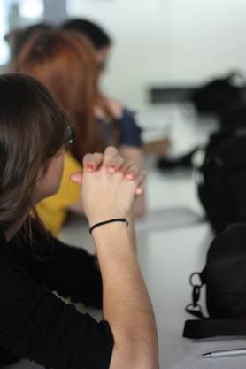 Mediencamp - Volle Konzentration