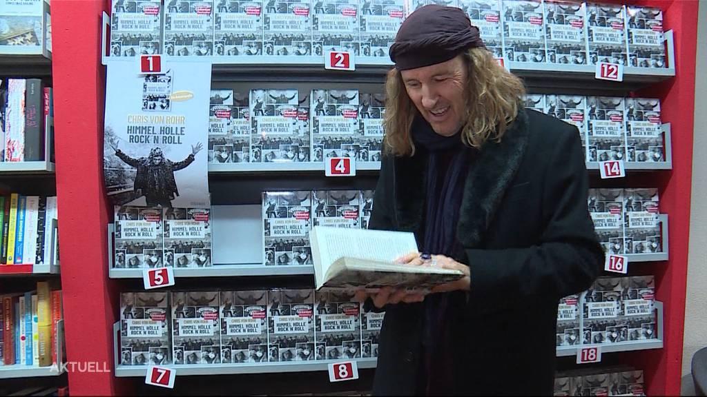 Chris von Rohr thematisiert in neuem Buch turbulente Zeiten seines Lebens