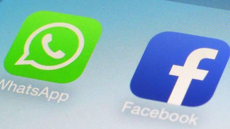 Facebook kaufte Whatsapp im vergangenen Jahr für knapp 22 Milliarden Dollar.