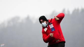 Simon Friedli startet am Wochenende in den Weltcup, trotz Coronafall in der Schweizer Delegation.
