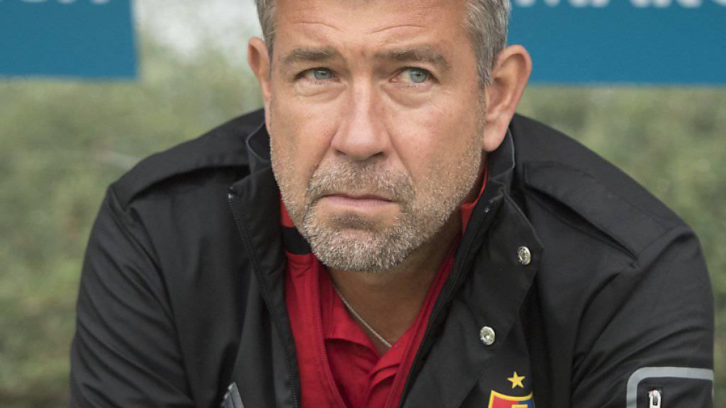 Blickt dem nächsten Rekord entgegen: Basels Trainer Urs Fischer
