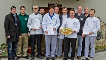 Sieben Bäcker aus dem Jurapark-Gebiet lancieren neues Brot