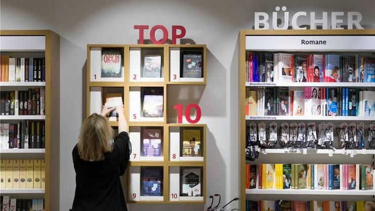 Eine Schweizer Buchhandlung. (Symbolbild)