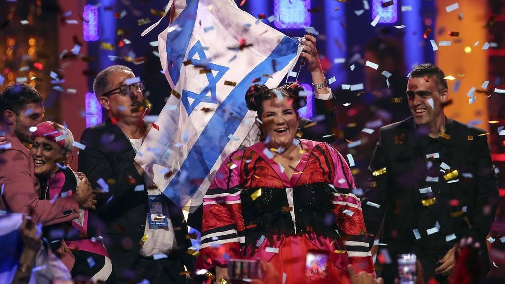 Israel siegt beim Eurovision Song Contest 2018 in Lissabon