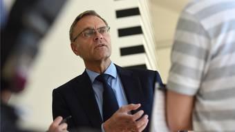Gerhard Lips ist nicht mehr Basler Polizeikommandant. Wie viel sein Abgang den Steuerzahler kostet, darüber lässt sich lediglich spekulieren.