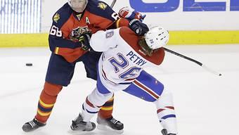 Jaromir Jagr (l.) hat noch nicht genug vom NHL-Alltag