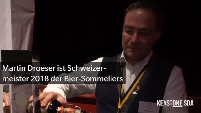 Martin Droeser ist der beste Bier-Sommelier des Landes