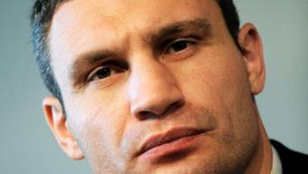 Sein Vater starb vor einem Monat an Krebs: Vitali Klitschko (Archiv)