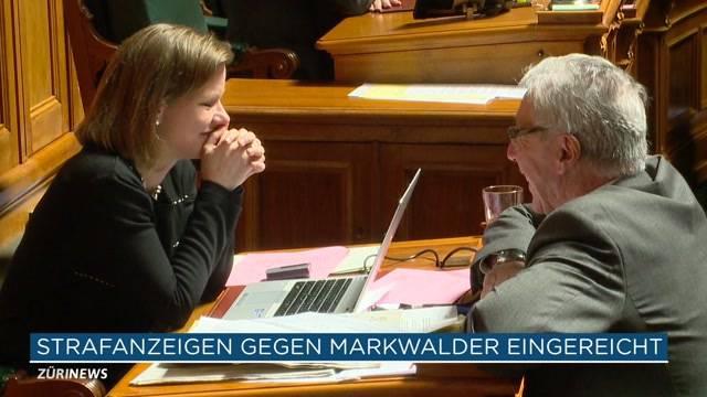 Strafanzeige gegen Markwalder und Müller eingegangen