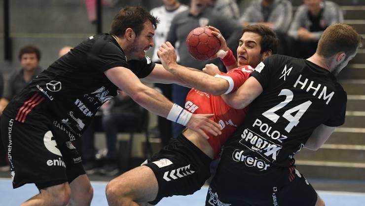 Nach monatelanger Handballpause: Die Rückkehr auf die Platte erfolgt gleich mit einem Aargauer Highlight