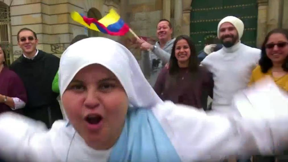 Der Papst besucht Kolumbien – dort erwartet ihn unter anderem diese rappende Nonne
