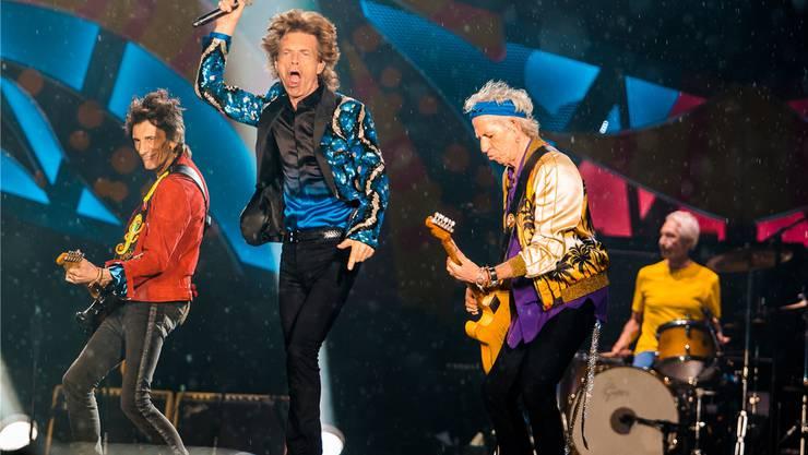 Die Stones performen immer noch in vollen Arenen, wie 2016 im Morumbi-Stadion in São Paulo.