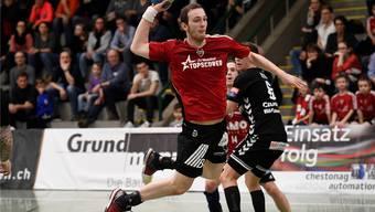 Erneute Niederlage: Der HSC Suhr Aarau verliert auch das dritte Finalrundenspiel.