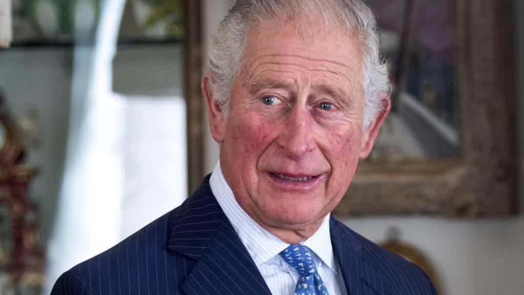 ARCHIV - Prinz Charles von Großbritannien ruft angesichts der verheerenden Corona-Lage in Indien zu internationaler Hilfe auf. Foto: Victoria Jones/PA Wire/dpa