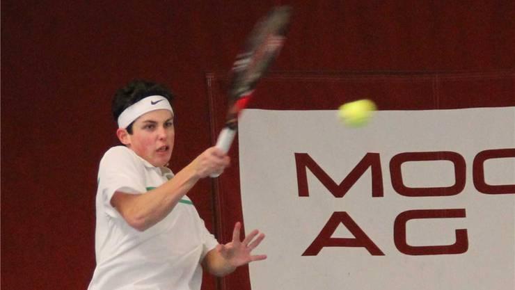 Daniel Valent gewinnt sein erstes Einzelturnier der Saison.baranzini