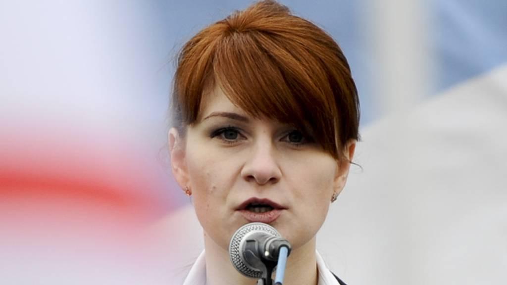 Die in den USA wegen illegaler Agententätigkeit verurteilte Russin Maria Butina soll am Freitag aus dem Gefängnis entlassen werden. (Archivbild)