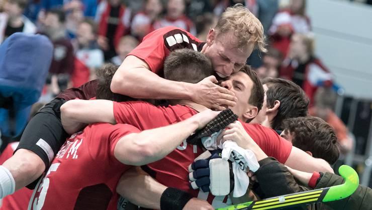 Gastgeber, Aufsteiger, Europameister: Die Landhockeyspieler setzen der Heim-EM die Krone auf