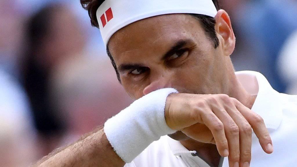 Vielleicht die bitterste Niederlage von Roger Federer: Er verliert den Wimbledon-Final in fünf Sätzen gegen Novak Djokovic