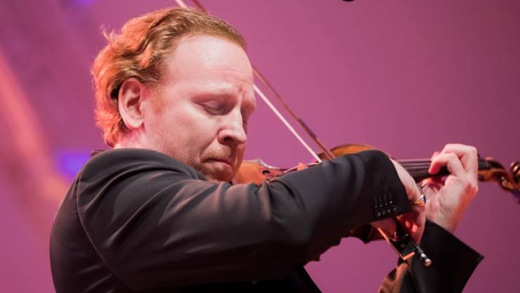 Der südafrikanisch-britische Geiger Daniel Hope leitet das Zürcher Kammerorchester seit September 2016. Im März 2018 ist sein Vertrag bis 2021/22 verlängert worden. (Archiv)