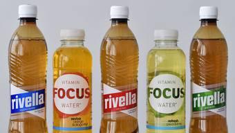 """Rivella übernimmt fluidfocus mit dem Vitaminwasser """"Focus""""."""