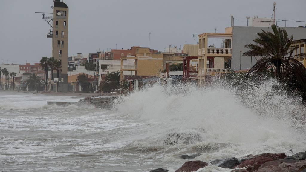 «Gloria» wütet in Ostspanien - zwei Tote und Rekordwellen