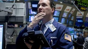 Talfahrt an den US-Börsen