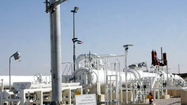Gas-Pipeline in Syrien (Archiv)