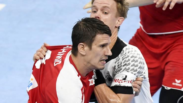 Kein Durchkommen für den Schweizer Bundesliga-Star Andy Schmid: 20:33-Niederlage!