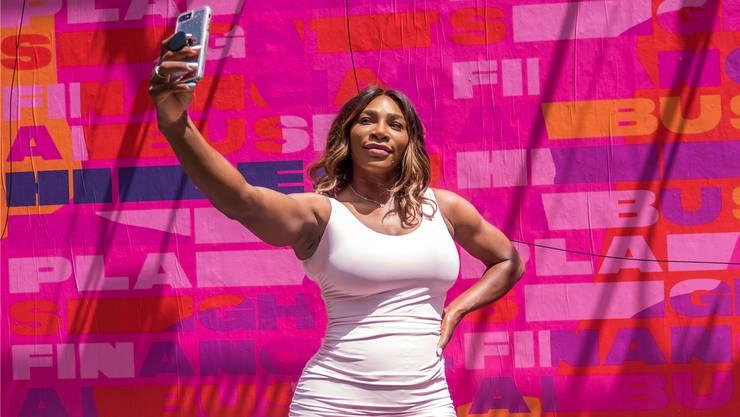 Mittendrin statt nur dabei: Serena Williams. key
