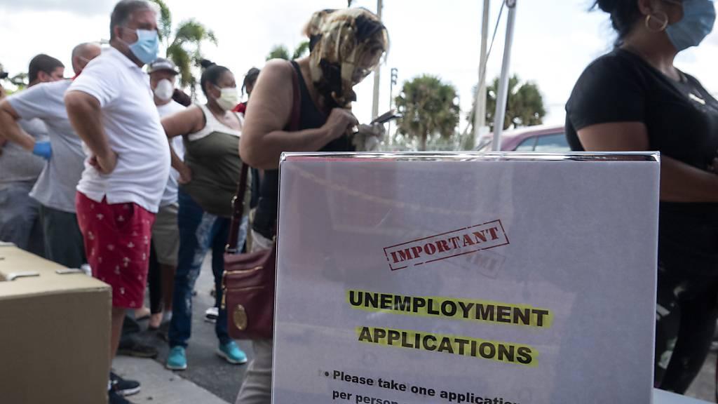 USA meldet weniger Arbeitslose im Monat Mai