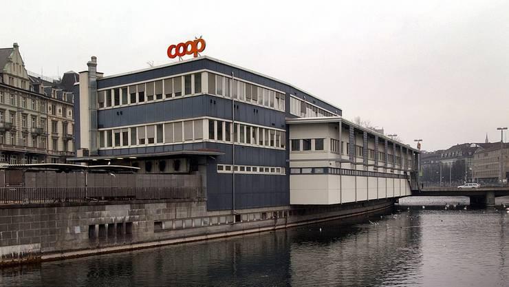 Das Globus Provisorium beim Zürcher Central.