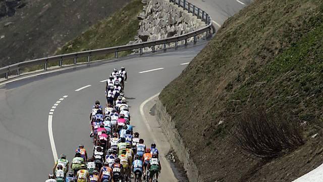 Furkapass auch dieses Jahr das Dach der Tour de Suisse