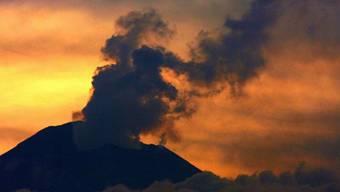 Der Vulkan Popocatépetl in Mexiko ist wieder aktiv