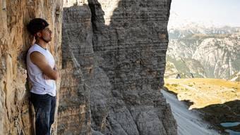 Für Mammut ist der Berg noch sehr steil
