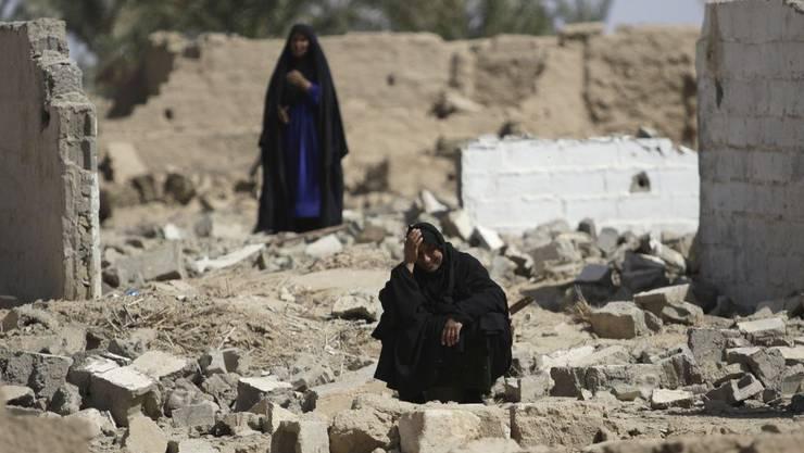 Viele irakische Frauen leiden unter Zwangsheirat mit Al-Kaida-Mitgliedern (Symbolbild)