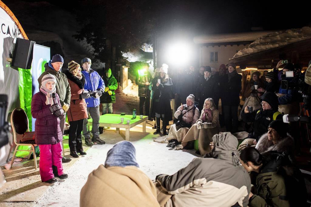 Greta Thunberg reist nach Davos