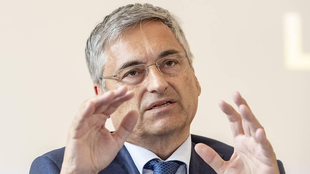Der Luzerner Gesundheitsdirektor Guido Graf zeigt sich über die aktuelle Entwicklung besorgt. (Archivbild)