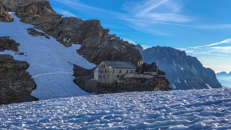 Die Mutthornhütte der SAC-Sektion Weissenstein hat eine neue WC-Anlage erhalten.
