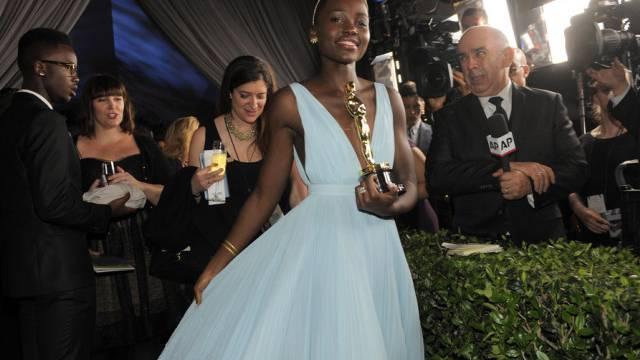 Auf Wolke sieben: Oscar-Preisträgerin Lupita Nyong'o (Archiv)