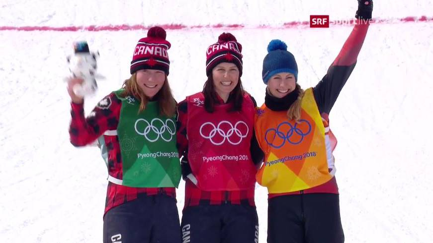 Fanny Smith holt Skicross-Bronze