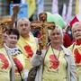 """Teilnehmer der Kundgebung """"Marsch fürs Läbe"""" 2016 in Bern: Die achte Auflage kann nicht wie geplant in Obwalden stattfinden. (Archivbild)"""