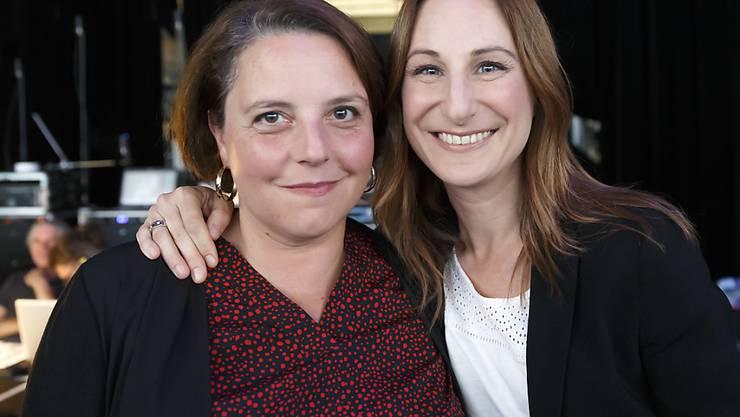 Die Sozialdemokratin Ada Marra (l.) erlitt im zweiten Wahlgang der Ständeratswahlen in der Waadt eine bittere Schlappe. Sie wurde im Gegensatz zur Grünen Adèle Thorens (r.) nicht gewählt. (Archivbild)
